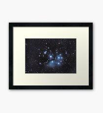 Pleiades Framed Print