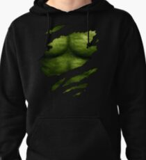 The Incredible Green Super Soldier Pullover Hoodie