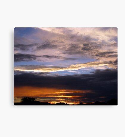 Arizona Sunset ~2 Canvas Print
