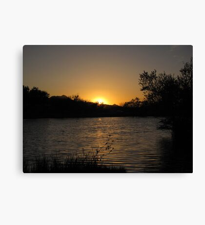 Arizona Sunset ~10 Canvas Print