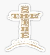 God's Country Sticker