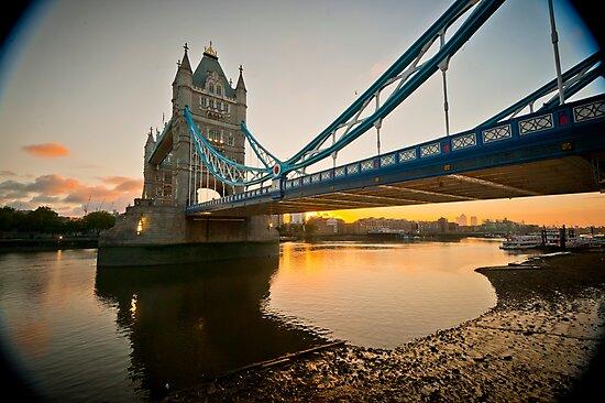 Sunrise at Tower Bridge. London. UK. by DonDavisUK