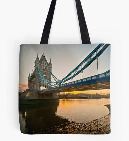 Sunrise at Tower Bridge. London. UK. Tote Bag