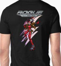 Rogue - back w logo Unisex T-Shirt