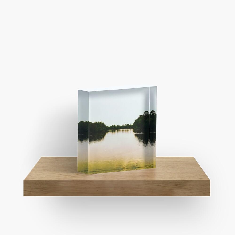 Lake Acrylic Block