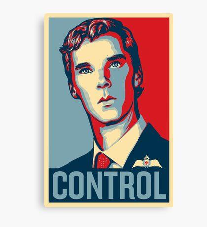 CONTROL 4colours Canvas Print