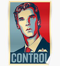 CONTROL 4colours Poster