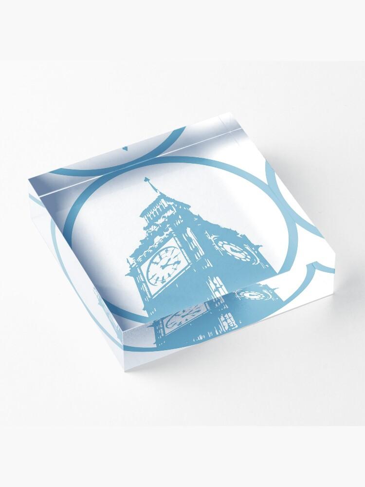 Alternate view of London Sticker Acrylic Block