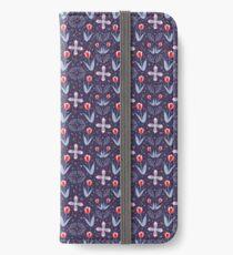 Navy Tulip Fields  iPhone Wallet/Case/Skin