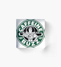 Koffein-Summen Acrylblock