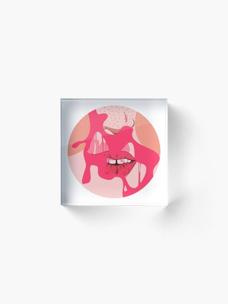Alternate view of Bubblegum Pop Acrylic Block