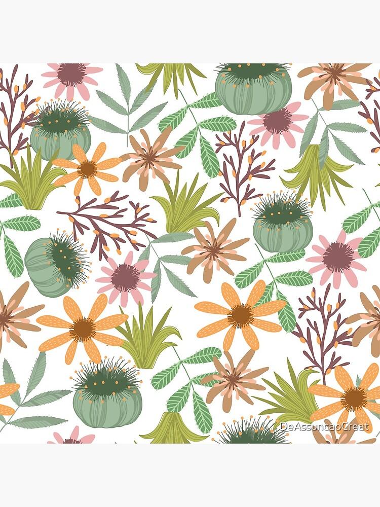 floral pattern exotik flowers de DeAssuncaoCreat