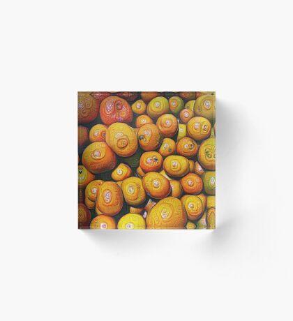#DeepDream Fruits 5x5K v1454417933 Acrylic Block
