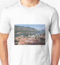 Kotor bird's eye view Unisex T-Shirt