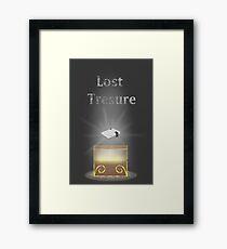 Lost Treasure - NES (Nintendo Entertainment System) Framed Print