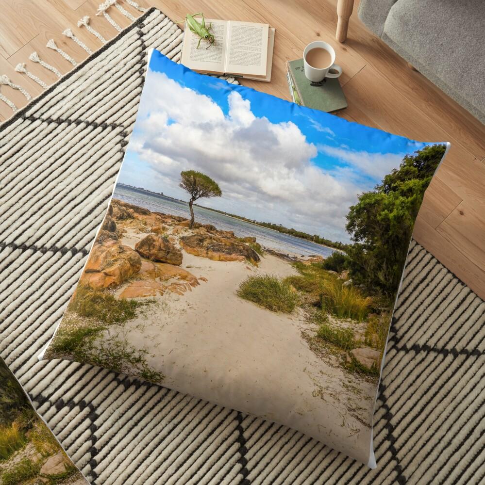 Beach time Floor Pillow