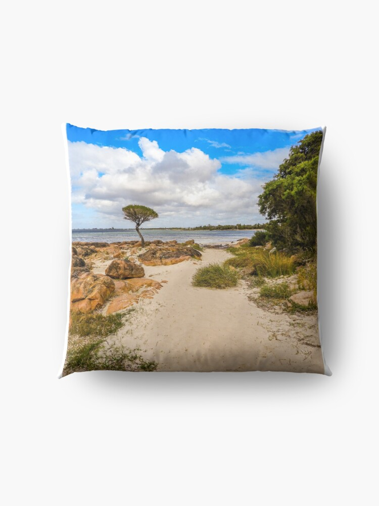 Alternate view of Beach time Floor Pillow