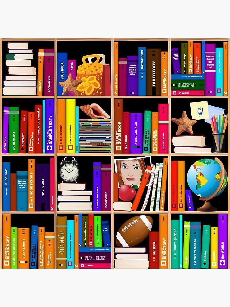 Librería Libro de texto Libros de texto de scooterbaby