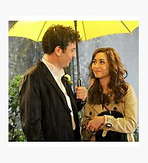 Ted Mosby Fotodruck