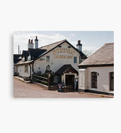 Foxton Lock  Canvas Print