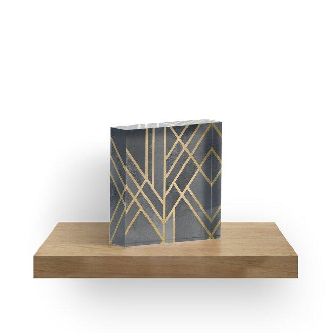 Art Deco Geometrie 1 von Elisabeth Fredriksson