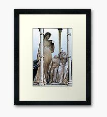 Stirling Statuary Framed Print