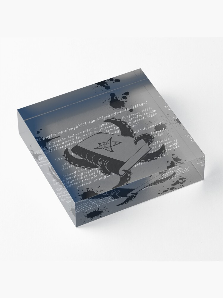 Alternate view of Cthulhu Mythos Acrylic Block