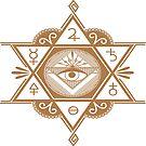 #Mystic #Symbols #Magic #Circle Occult symbols Esoteric | Etsy by znamenski