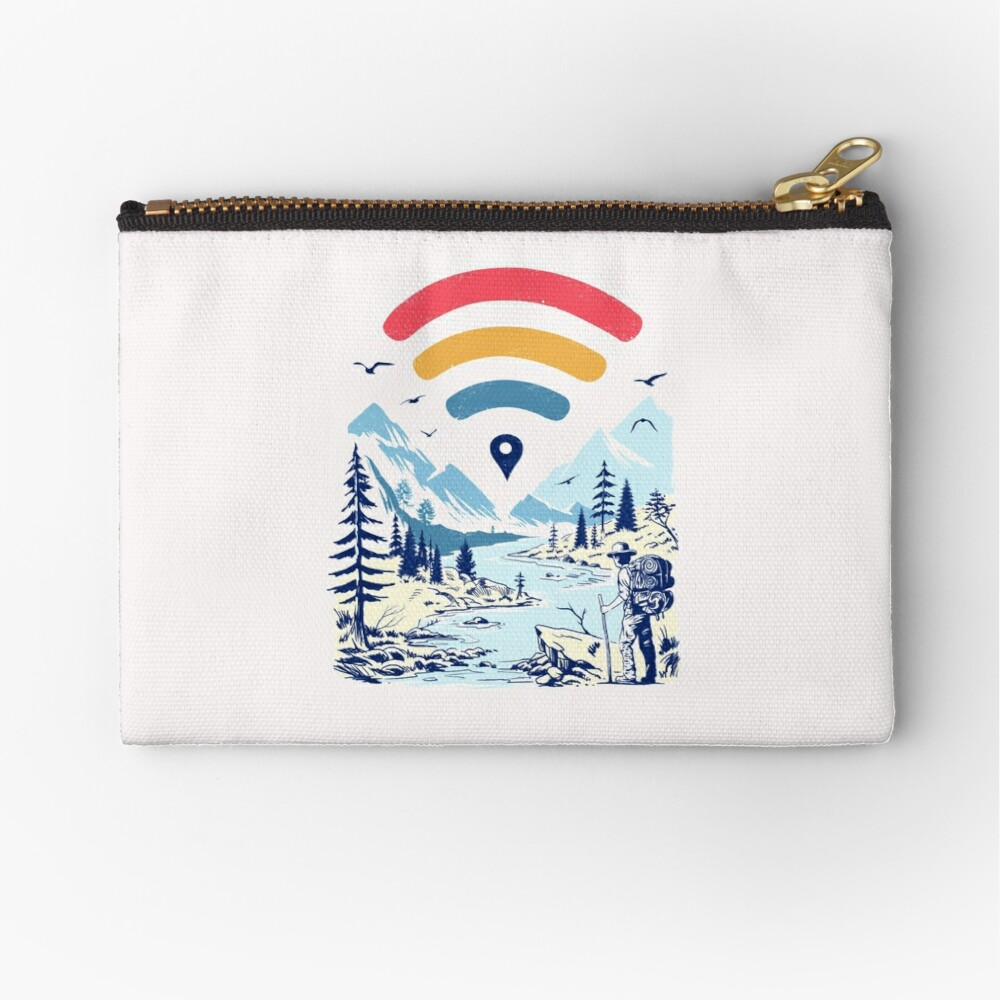 Internet Explorer Zipper Pouch