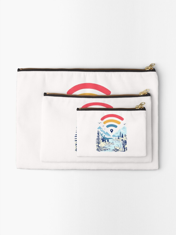 Alternate view of Internet Explorer Zipper Pouch