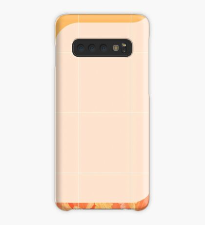 Mid-Century Tropical Orange Way #redbubble #tropical Case/Skin for Samsung Galaxy