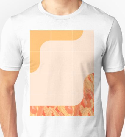 Mid-Century Tropical Orange Way #redbubble #tropical T-Shirt