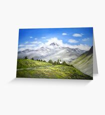 ABODE OF GODS Greeting Card
