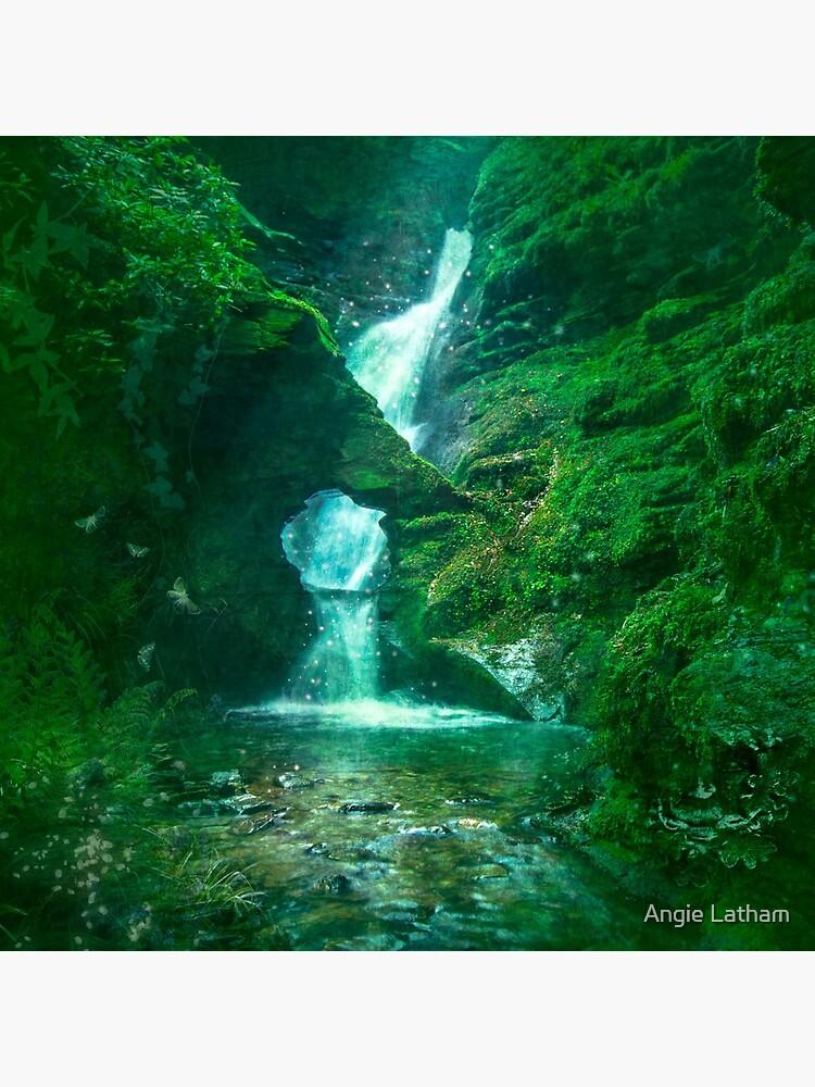 St.Nectan's Glen - Mystic Waters by AngelaBarnett