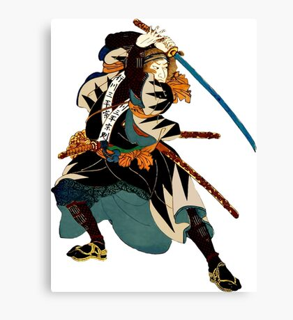 ...action Canvas Print