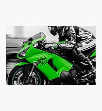 Kawasaki Ninja Photographic Print