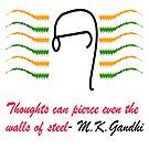 Thoughts of Gandhi by Arvind  Rau