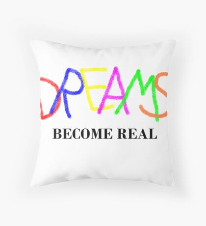 Dreams of Reality Throw Pillow