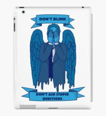 Weeping Angel of The Lord iPad Case/Skin