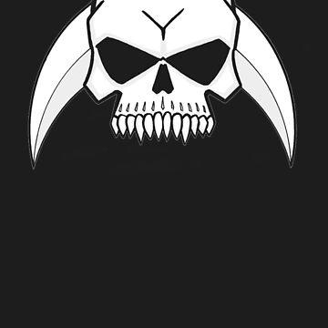 Skull of the Destroyer by ozzydanger