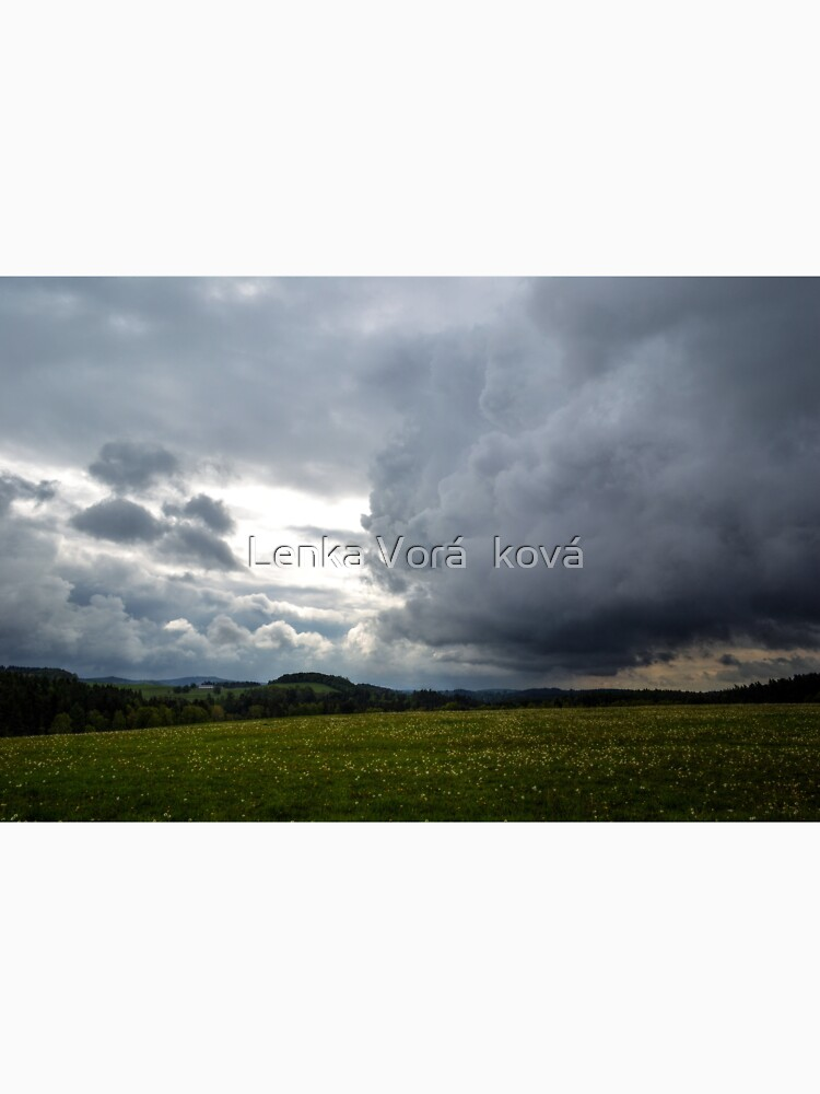 Cloudy sky above Ralsko area by Trin4ever