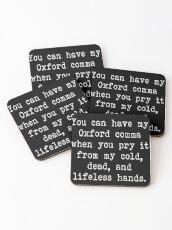 Posavasos Mi Oxford Comma