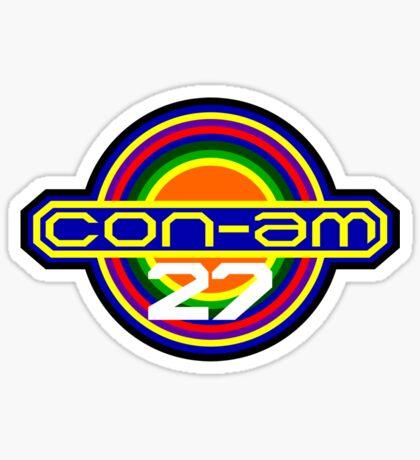 CON-AM 27 Sticker