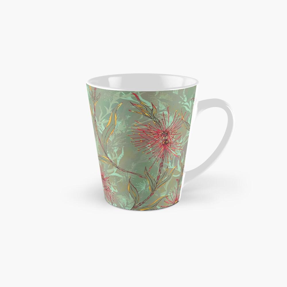 Red Gum Floral Tall Mug