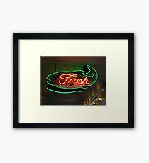 fresh fish Framed Print