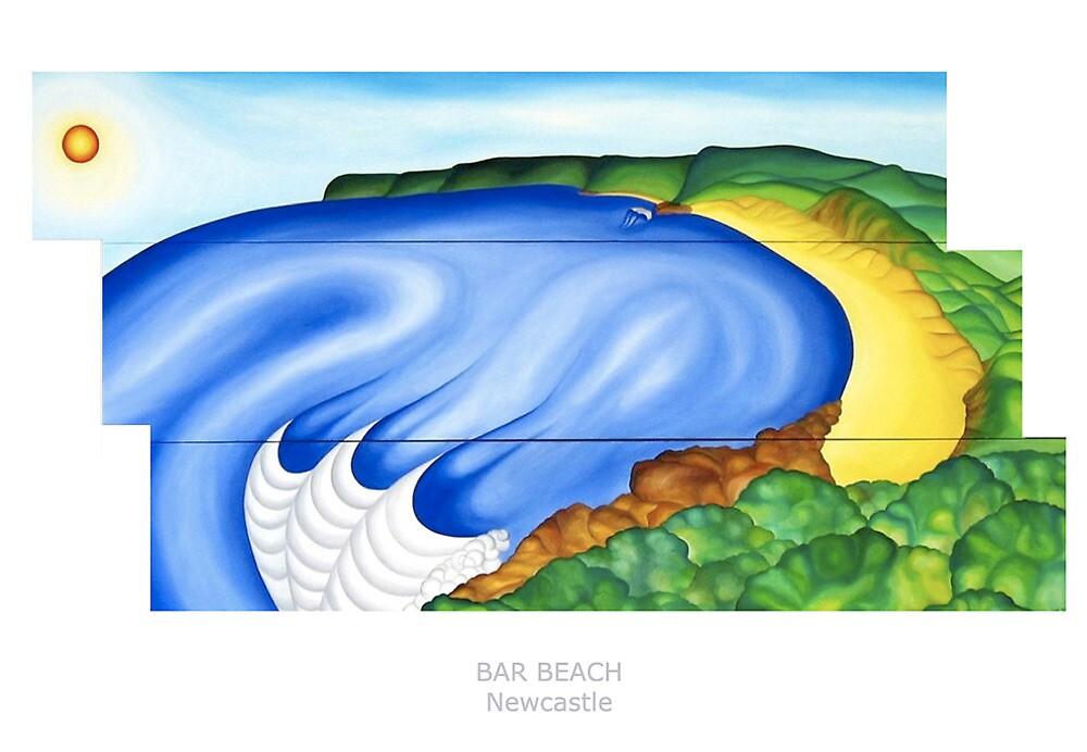 Bar Beach by Keith Nesbitt