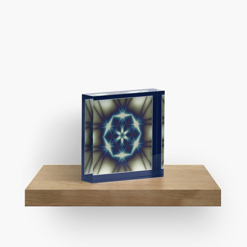 The Solstice Star Shawl Acrylic Block