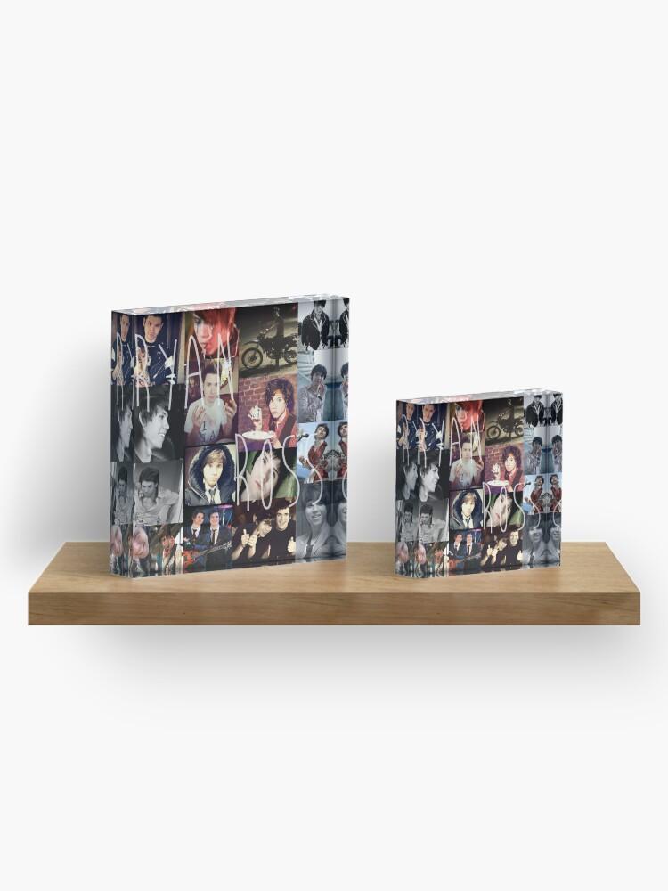 Alternative Ansicht von Ryan Ross collage collection n__n Acrylblock