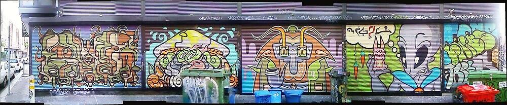 melbourne graffiti 097 by Joseph Barrows