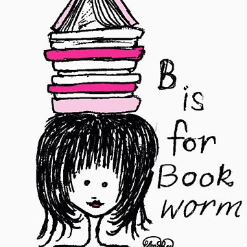 B is for Book Worm by PlanBee